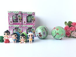 Wholesale Doll Small Box - 4pcs set LOL Surprise Dolls Baby Dolls Lil Sisters Series 2 Lets be Friends Action Figures Toys Baby Doll With Retail Box