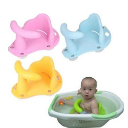 Wholesale Grass Chairs - Free shipping Baby Infant Child Toddler Bath Seat Ring Non Anti Slip Safety Chair Mat Pad Tub