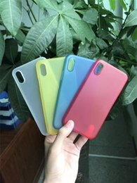 Wholesale Cheap Plastic Cell Phone Cases - Factory Cheap Price Ultra Slim PP Soft Cell Phone Case iPhone 8 Cases Multi Color Back Cover for iphone 8 Protective Case Shell