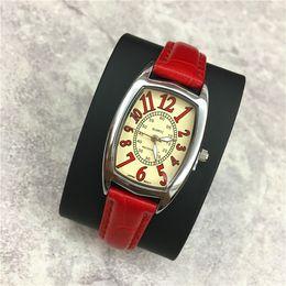 Мода стиль Женщины часы красочные натуральная кожа Леди наручные часы сексуальный браслет роскошные студент световой Relogio мужской 15 шт. DHL бесплатно supplier dhl leather bracelet watch от Поставщики dhl кожаный браслет смотреть