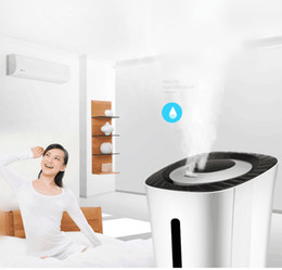 Wholesale Humidifier Anion - Intelligent LCD remote anion humidifier mute home bedroom large capacity office air aroma machine