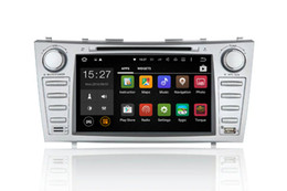 "Sintonizador toyota on-line-HD 8 ""tela capacitiva Pure Android 5.1.1 carro DVD PC GPS para toyota camry 2006-2011"
