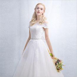 Wholesale Long Sleeve Wedding Dresses Online - Wholesale 2016 Sexy Luxury Romantic Fashionable Plus Size Lace Wedding Dress Bridal Dress Lace Long Gown Sleeves Custom Made Online