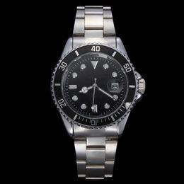 Wholesale Skull Stainless - NEW Roles Gold skeleton Watch Men Top Brand Luxury Wristwatches Famous Male SPORT Quartz Watch Relogio Masculino Golden Skull Wristwatch