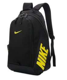 Wholesale Girls Backpack Waterproof - high quality Waterproof nylon printing men women shoulder bag shark kanye west Back pack Travelling bag pupil bag 404702842  406517138