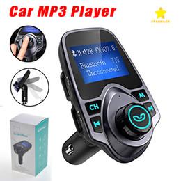 T11 LED Ekran ile Bluetooth Hoparlör Araba MP3 Müzik Çalar USB Şarj Perakende Paketi ile Destek TF Kart U Disk nereden