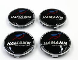 4 unids / set 68 mm resina logo centro de la rueda tapones tapa emblema de la insignia emblema Car Logo Center Cap para bmw HAMANN desde fabricantes
