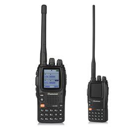Alta qualidade wouxun transceptor kg-uv9d multi-band handheld rádios em dois sentidos uhf vhf walkie talkie rádio presunto kg-uv8d atualização motorola qualidade de