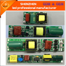 Wholesale Power Supply Electronics - AC85-265V 50 60Hz DC30-80V 9w 18w T5 T8 T10 non-isolated LED tube Driver tube non-isolated Power Supply Lighting Transformers Electronic