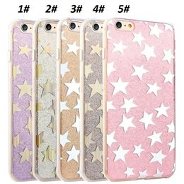Wholesale Iphone Case Bling Mix - New Hot For Iphone 6S Bling Rhinestone Crystal Glitter Cases Slim Cover For Iphone 6S Plus 6 6S With OPP Bag Mix Colors