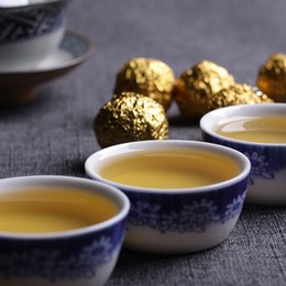 Wholesale Chinese Tea Set Dragon - 2015 Yunnan Pu er mini Dragon Ball old tree raw tea tuocha 0.5kg set Health Care anti-old weight loss Chinese tea