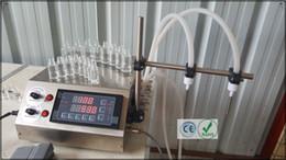 Wholesale E Cigarette Machine - GZL-50 peristaltic pump filling machine 1-450ml min with 2 heads liquid filler for solvents, perfumes, e-cigarette oil filling machine