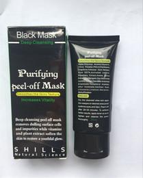 nez gras Promotion Hot SHILLS Masque pour le visage noir à la boue Nettoyant en profondeur SHILLS Masque pour le visage masque noir 50ML