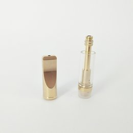 Wholesale Ego Ce5 Dual - OEM logo Disposable Glass Tube atomzier Dual BVC Coil 510 Cartridge For concentrate thick Co2 oil VS CE3 CE4 CE5 ego atomizer