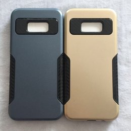 Wholesale Cheap Customized Iphone Cases - For iPhone 8 Plus X 7 Plus 6S 5S PC TPU Hybrid Defender Tough Phone Case Cheap Protective Cover Opp Bag Foctory Price