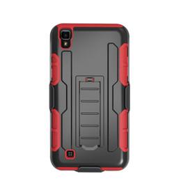 Wholesale Blu Cover Case - For Blu Studio 530A Studio 610A Microsoft Lumia 950 650 New Silicone PC Cheap Protective Hybrid Combo Holster Case Belt Clip Kickstand Cover