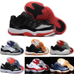 Wholesale Air Hard - 2018 man basketball shoes air retro 11 XI Citrus 72-10 white Olympic Concord Gama Blue Varsity Red Navy Gum Sneaker Metallic Gold sneakers