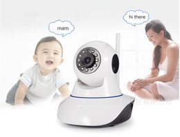 Wholesale Electronic Saver - Wireless Remote Control Video Baby Monitor with Night Vision Intercom Voice WIFI Network IP Camera Electronic for MAC PC Phone