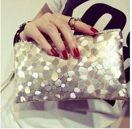 Wholesale Silver Wristlet Purse - New Female Wristlet Clutch Wallet Leather Woman Purse Bag Ladies Women Bag Handmade Women's Wallet Card Coin Phone Purse Holder