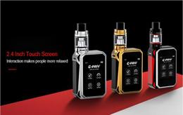 sigarette elettroniche Grande fumo 220W grande scatola di potere touch screen libero 18650 batteria atomizzatore vaporizzatore 5ml serbatoio ecig Vendita calda da
