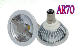 Wholesale Double Spotlights - AC DC 12V B15 LED AR70 7W Spotlight 50w 60w Halogen Equivalent, Epistar Led Double Chips Beam angle 24 LLFA