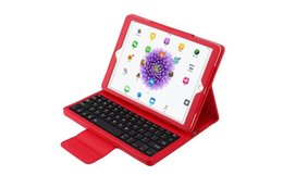 Wholesale Tablet Keyboard Package - Bluetooth Wireless Keyboard Case Tablet PC Stand Holster Cover for IPAD PRO 9.7Inch ,Ipad Air Ipad Air 2 with retail package 4 colors