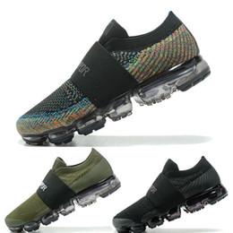 Wholesale Blue Labs - new Lab vapormax fly fashion casual shoes black men women high quality knit Vapormax Lightweight Walking moc sneaker Size Eur36-45