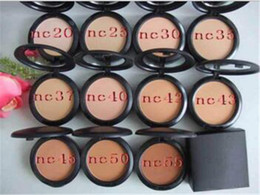 Wholesale Wholesale Mineral Pressed Powder - 2017 new makeup face powder bare mineral NC Powder Brand M C Cosmetic VS laura mercier powder