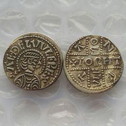 Wholesale Uk Money - UK(01) King Aethelwulf of Wessex 839-859 ancient UK 1 Penny Free shipping
