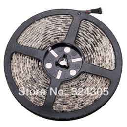 Wholesale Waterpoof Strip Led Light - 1x 5M 300 LED WATERPOOF 5050 SMD 12V Flexible Strip Light Auto+IR Remote RGB wholesale