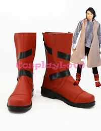 Wholesale Masks Custom - Wholesale-Newest Custom Made Japanese Anime Masked Rider W Kamen Rider W Cosplay Shoes Long Boots For Halloween Christmas CosplayLove