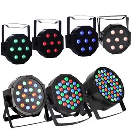 Wholesale Led Bar Rgb Dmx - LED Par Lights Disco Party Lights 36*3W DMX-512 RGB 36 LEDs Stage Lights DJ Light Projector Stage Lighting for Wedding Show Club Bar