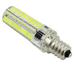 Paquet de 10, vis E12 C7 80-2835 SMD blanc chaud / froid LED Silicone Cristal Ampoule Lumière du jour Lustre Bougie Lumière Lampe 6W CA 110V 220V ? partir de fabricateur