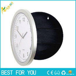 Wholesale Case Personalize - Storage box Novelty Wall Clock Diversion Safe Secret Stash Money Cash Jewelry Security Lock case pill box 2016 new