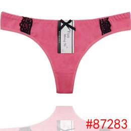 Wholesale Wholesale Plus Size Lingerie Women - HL87283 Wholesale Cheap ladys Sexy Cotton Thong, Hot Sale High Quality Lace Thong, Women Sexy Underwear, Underpant, Underwear, Lingerie