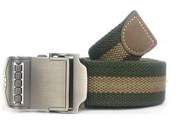 Wholesale Tactical Belt Buckles Wholesale - 2016 Sports Car Style Buckle Men Brand Canvas Belts High Quality Male Straps Military Equipment Belt Men's Tactical Luxury Belts H21084