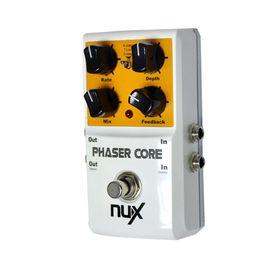 2019 partes de transistores Producto original NUX AS-3 Modulador de fase Phaser Modulación de fase Pedal de efecto Pedal Bloqueo de tono Función preestablecida True Bypass partes de guitarra