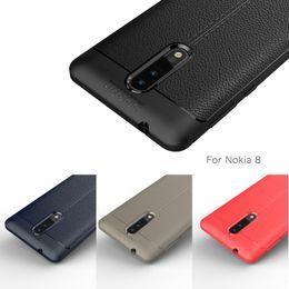 Wholesale Litchi Phone Case - For Sony Xperia XA1 XA2 Ultra L2 XZ Premium XZS XZ1 Compact Litchi Leather Skin TPU Soft Rubber Phone Back Case Cover 50pcs