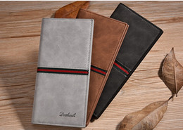 Wholesale Products Christmas - Dexbxuli new products men's long wallet youth multi-card ultra-thin soft leather jacket in the back of the bag spot