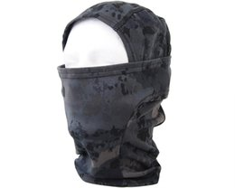 Wholesale Tactical Guard - Hot Sale Outdoor Running Training Face Mask Men Windproof Balaclava Scarf Tactical Full Face Mask Hunting Accessories