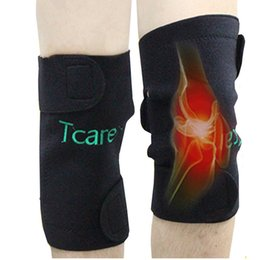 Wholesale Tourmaline Knee Pads - High Quality Self-heating Tourmaline Knee Brace Knee Support Magnetic Therapy Knee Pads Kneepads Health Care Products