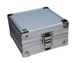 Wholesale Tattoo Case Set - Solong tattoo Large Luxury Aluminium Tattoo Set Kit Empty Carry Box Case TA705