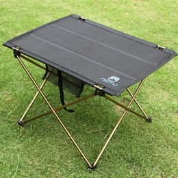 Wholesale Folding Camp Tables - Outdoor Folding Table Camping Aluminium Alloy Picnic Table Waterproof Ultra-light Durable Folding Table Desk For Picnic