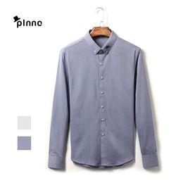Wholesale Stylish Party Shirts - Wholesale-2016 Summer Casual Comfortable Fit Stylish Long-Sleeved Shirts Party dresses Mens dress Shirts cotton Designer Shirts Size 3XL