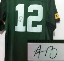 Wholesale Aaron Rodgers Jersey Xxl - Signature Edition #12 Aaron Rodgers White Jerseys Elite American Football Jerseys Autographed Men's Jersey Best Quality Football Wear