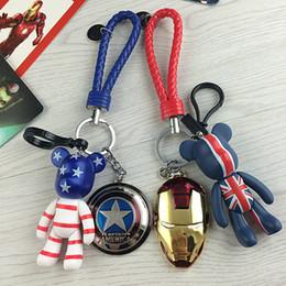Alliage Super Héros Les Avengers Marvel Marvel Iron Man Masque Superman Bande Dessinée Violence Ours En Métal Porte-clés Pendentif Porte-clés ? partir de fabricateur