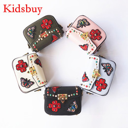 Wholesale Best Baby Bags - Kidsbuy Best Hot Selling bag Bags for Childrens Kids Butterfly Purse Little Baby girls Brand new bags Kid's Small wallets for outdoor KB082