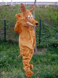 Wholesale Mascot Dog - High-quality Real Pictures Deluxe Australian hound dog Mascot Costume Mascot Cartoon Character Costume Adult Size free shipping