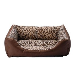 Wholesale Leopard Bedding Sale - Free shipping Doghouse Leopard Pet Bed New Arrival Dog Houses Fashion Pet Products Pet House Wholesale Retail Hot Sales HP013