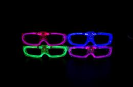 brinquedo dançando spiderman Desconto Fio EL Luz LED Óculos de Luz Brilhante Partido Óculos Clube Bar Desempenho Brilho Partido DJ Dança Óculos OOA